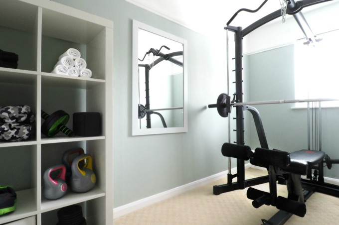 My Home Gym Transformation | Melissa Jane Lee