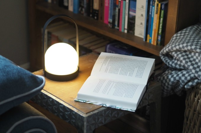 Menu Carrie Lamp : Portable indoor outdoor lighting with the menu carrie lamp