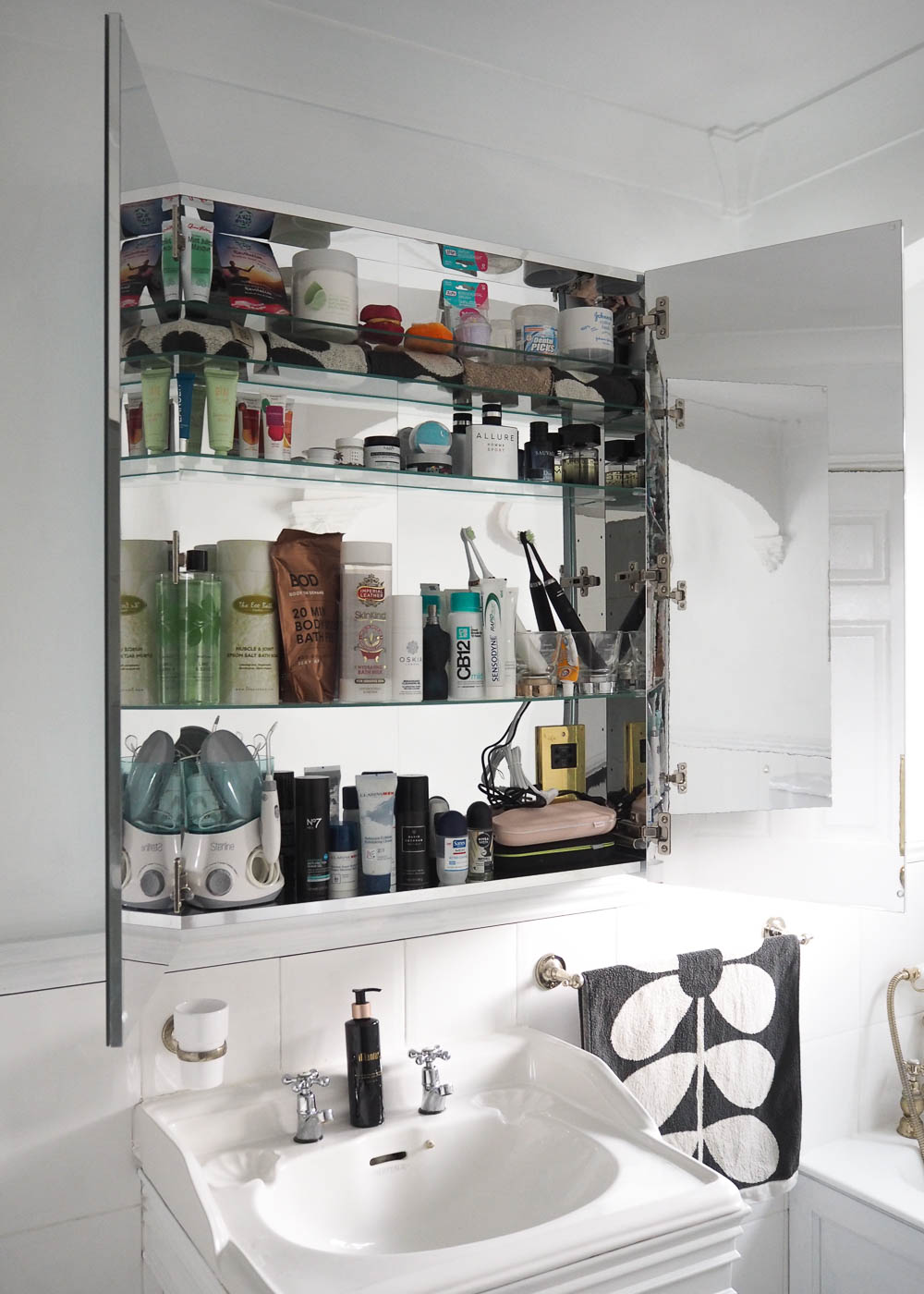 The IKEA Godmorgon Bathroom Mirror Cabinet