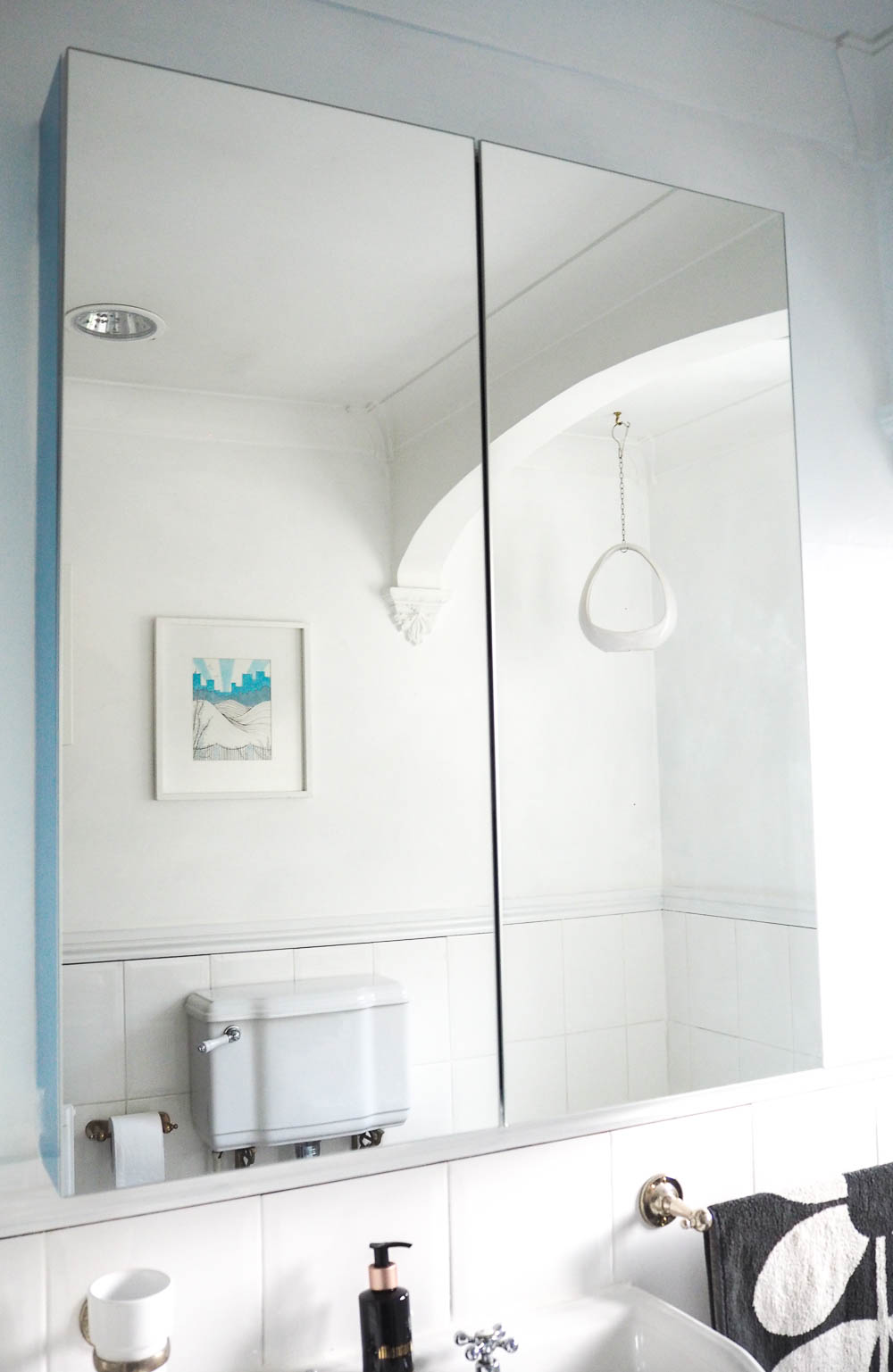 Top  Ikea Bathroom Cabinets With Wall Mirror Multitude #9